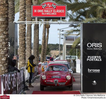 The Oris Rally Clasico Isla Mallorca being the pearl of European rallies attracted many enthusiasts.