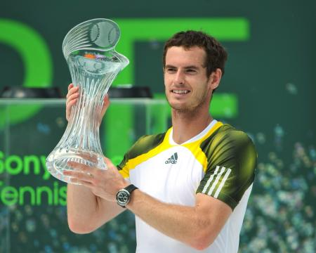 Andy Murray, Rado global ambassador, wins Miami Masters 1000.