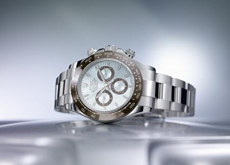 The new Cosmograph Daytona in platinum