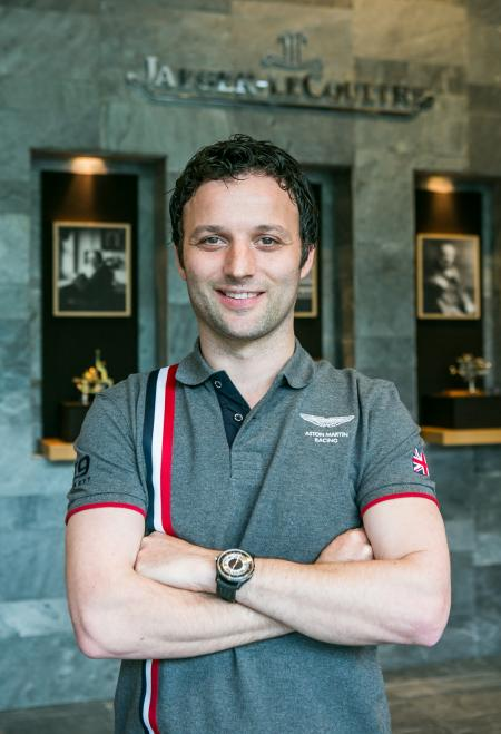 Darren Turner, official works driver for Aston Martin Racing