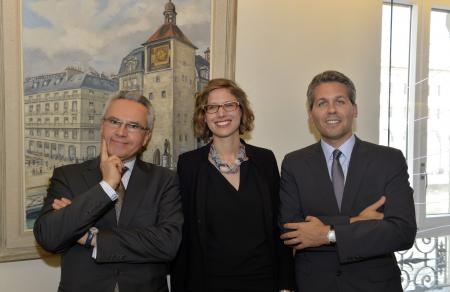 Heinz Forrer, Charlotte Mailler & Julien Marchenoir