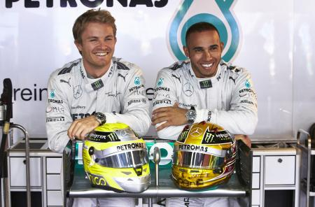 Nico Rosberg and Lewis Hamilton new ambassadors of IWC Schaffhausen