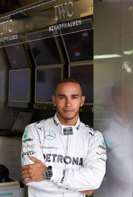 Lewis Hamilton new ambassadors of IWC Schaffhausen