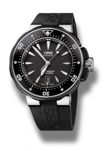 "The Oris ProDiver Date, the ultimate timepiece in toughness, as worn by Dwayne Johnson in ""Fast & Furious 6""."