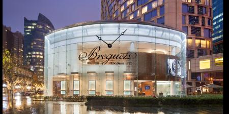 The new Breguet store in Shangai