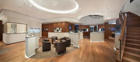 Inside the new Breguet store in Shangai