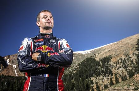 Sébastien Loeb was the winning driver crossing the finish line at some 4 300 meters high in 8' 13''878 wearing an RM watch on his wrist.