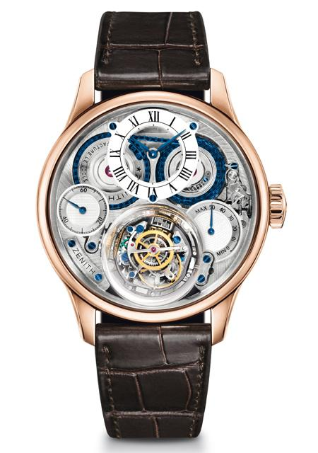 The Academy Christophe Colomb Hurricane Zenith watch