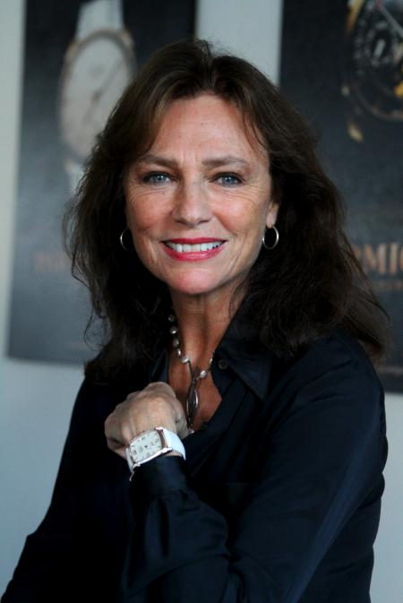 Jacqueline Bisset and her Kalparisma watch