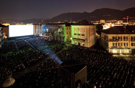 The Piazza Grande during the 66th Festival del Film Locarno