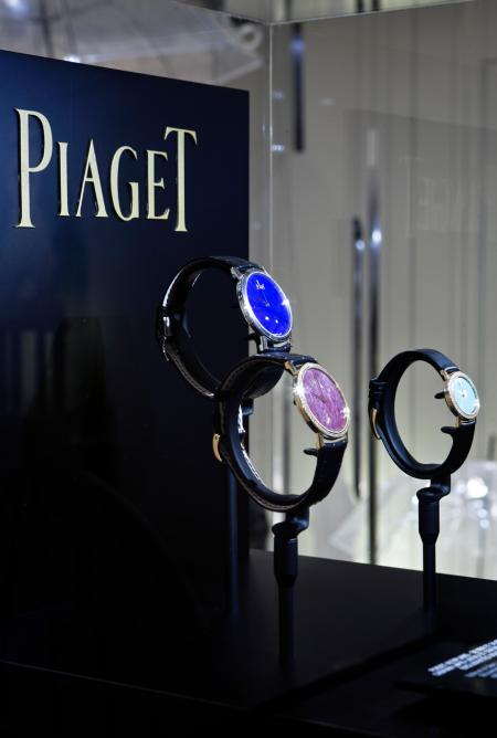 Exhibition Piaget Altiplano in Paris at Printemps Haussmann