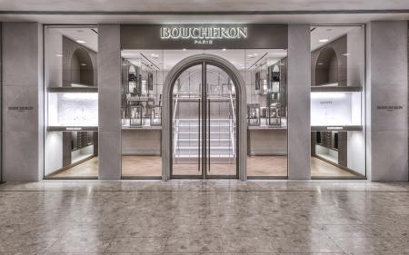 The Maison Boucheron opens a new Boutique at Ocean Terminal in Hong Kong