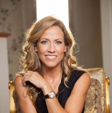 Sheryl Crow wearing a rose gold PVD RAYMOND WEIL jasmine during the taping of Live from the Artists Den