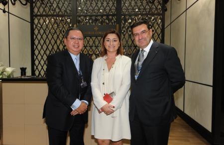 Mr Juan Carlos Torres, Ms Fabienne Lupo, Dr Peter Lam