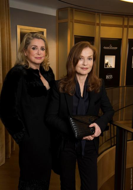 Catherine Deneuve and Isabelle Huppert - Jaeger-leCoultre Place Vendôme copyright PixHel