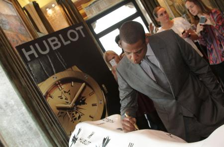 Hublot announces exclusive partnership with shawn 'Jay Z' Carter