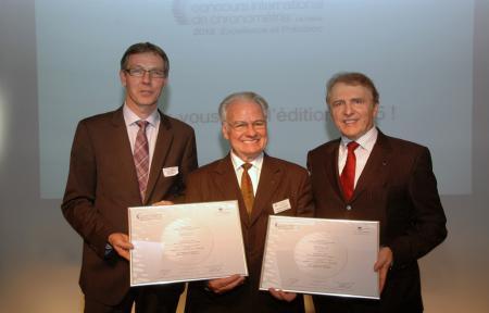 International Timing Competition : Nicolas Clerc, Claude-Henri Chabloz, François Thiébaud