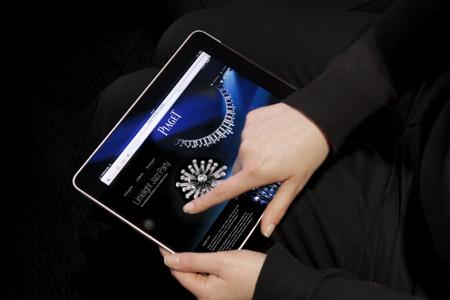 iPad compatible version of www.piaget.com