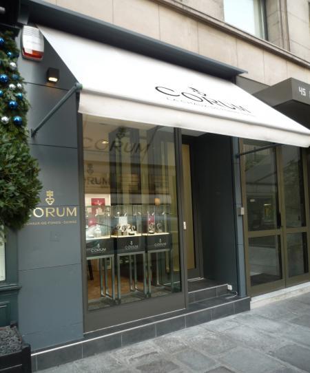 CORUM boutique in Paris