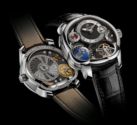 The Platinum GMT by Greubel Forsey