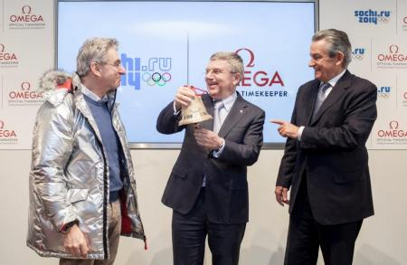 Opening of the OMEGA pavilion in Sochi