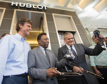 Hublot opens its first boutique in Latin America