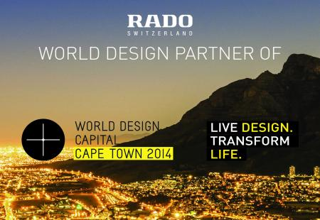 Rado proud to be World Design Partner for World Design Capital Cape Town 2014