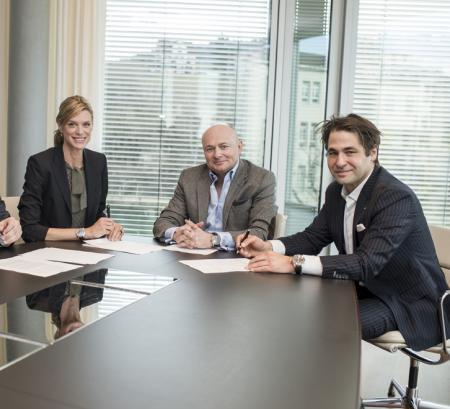 Georges Kern with Nadja Schildknecht and Karl Spoerri
