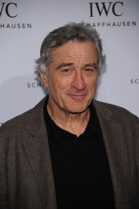 Robert De Niro at the Tribeca Film Festival in New York
