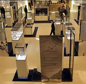 Breguet took up residence on the Swatch Group Plaza by holding an exclusive exhibition