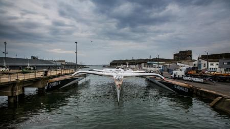 SPINDRIFT the launch