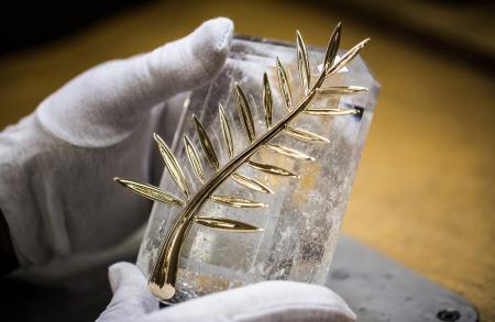 The Palme on its cristal base