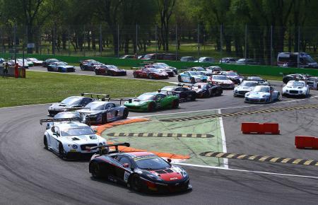 GTSeries 2014 Monza 1st turn