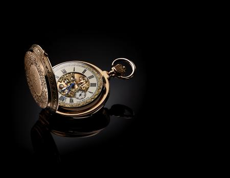 Pocket watch with jacks – LeCoultre Calibre 19/20RMS