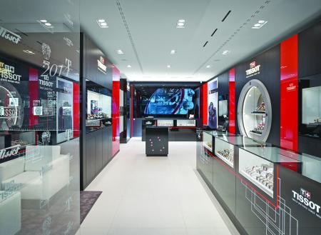 Tissot opens a new boutique on the Bahnhofstrasse of Zurich