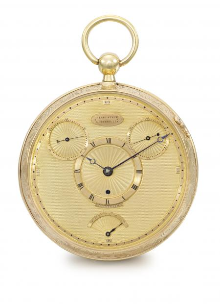 The extremely rare Breguet Tourbillon no°1176 which belonged to Count Potocki