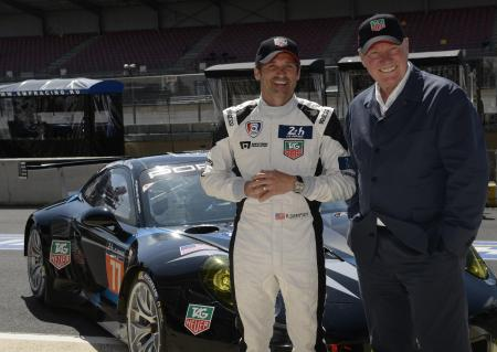 Jean-Claude Biver and Patrick Dempsey