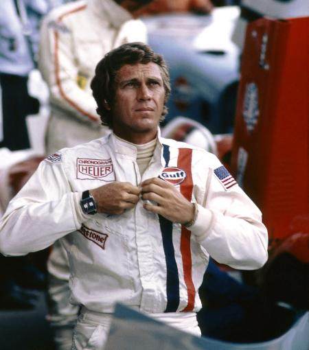 Steeve McQueen in movie Le Mans - 1970