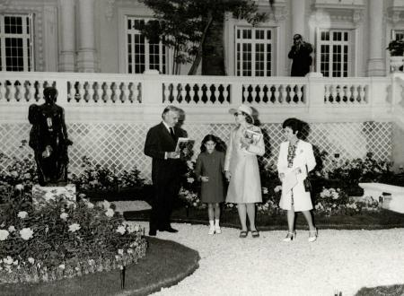 Re-opening of the Princess Grace of Monaco Rose Garden Refurbished and Enlarged with the Support of Piaget