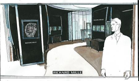 Richard Mille boutique Paris moving to new premises in Avenue Matignon