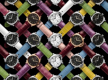 Eleven new sophisticated colours for the Officine Panerai straps