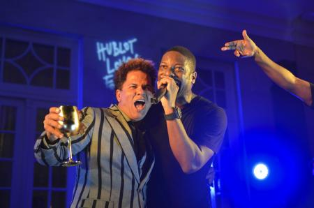 Hublot Closing Party in Rio - Britto and Wyclef Jean