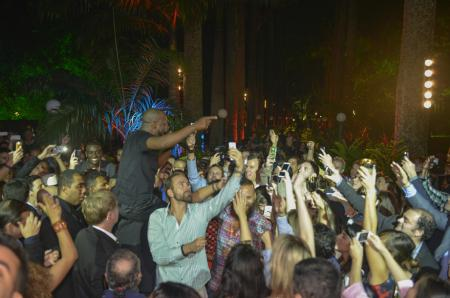 Hublot Closing Party in Rio - Wyclef Jean performance