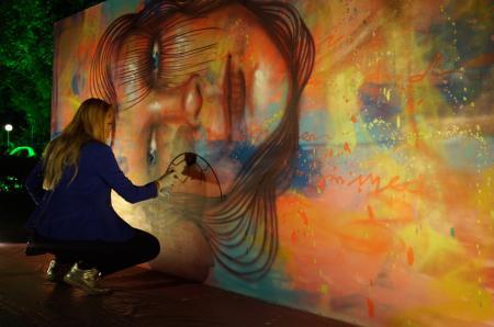 The artist Panmela Castro