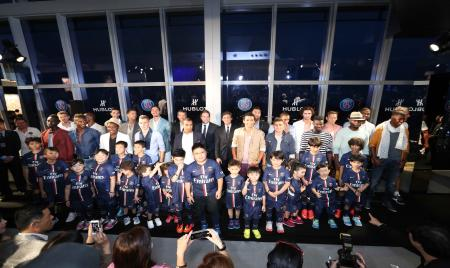 Hublot hosts a Fashion Show and Gala Dinner in aid of charitable causes during Paris Saint-Germain's visit to Hong Kon