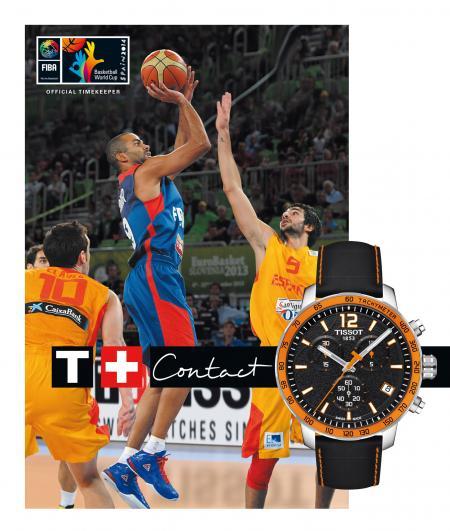Tissot, Official Timekeeper of FIBA Basketball World Cup Spain 2014
