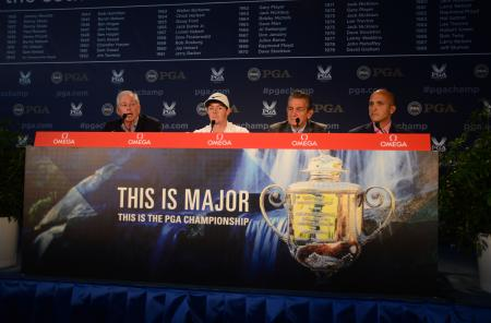OMEGA, PGA and Rory McIlroy - Press conference