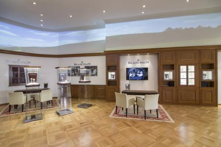 New Blancpain boutique on 5th Avenue