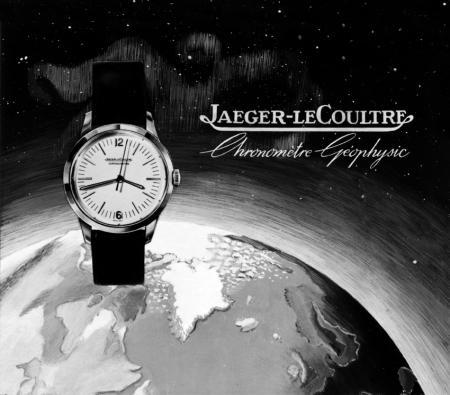 Jaeger-LeCoultre Geophysic® - historical poster