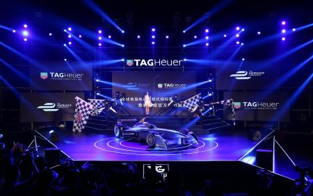 TAG Heuer & Formula E press conference